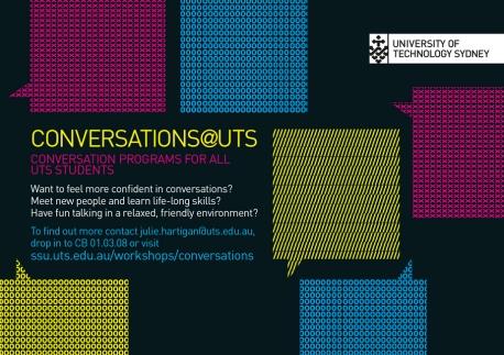Conversation@UTS-Postkarte