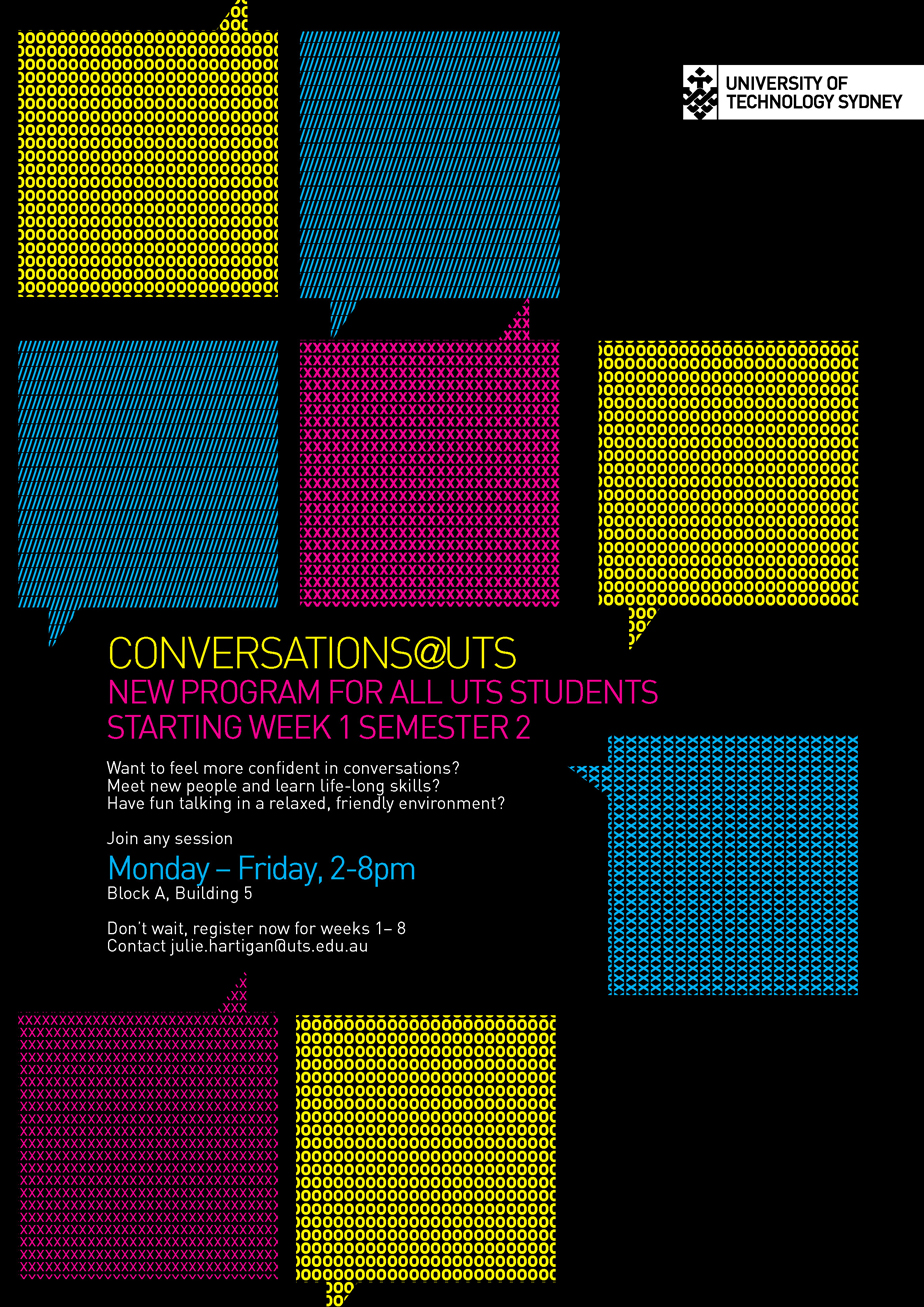 Conversation@UTS-Poster
