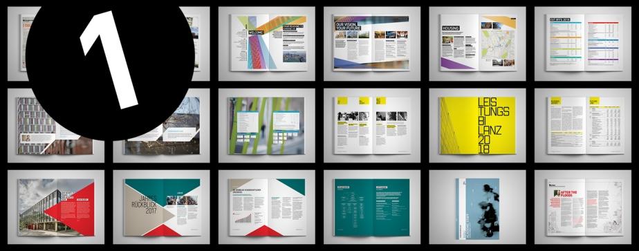 Designstile für Ihren Geschäftsbericht
