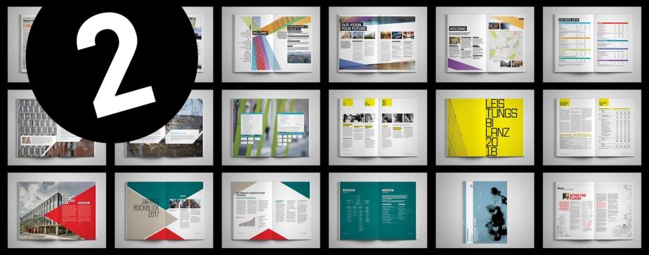 Erfolgreiches Design und effiziente Umsetzung für Ihren Geschäftsbericht
