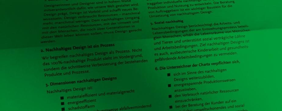 Nachhaltiges Design und umweltfreundliche Druckprodukte